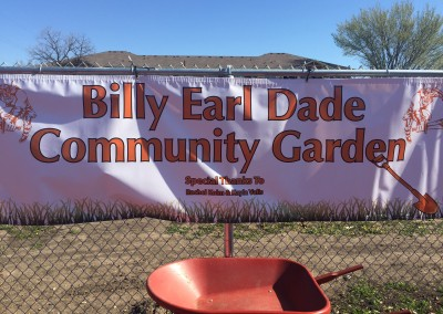 Billy Earl Dade Community Garden