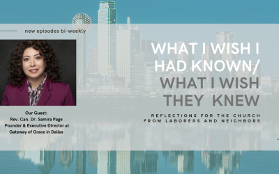 WIWIHK/WIWTK Podcast – Rev. Can. Dr. Samira Page